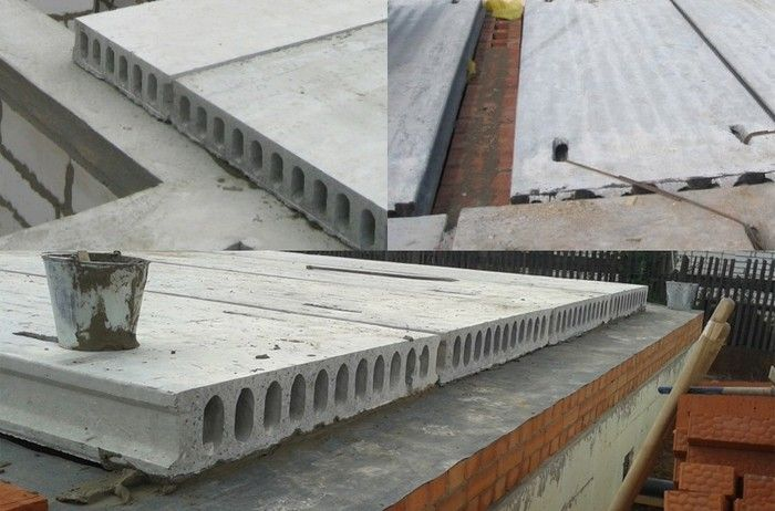 Применение пустотелых плит для перекрытия зданий